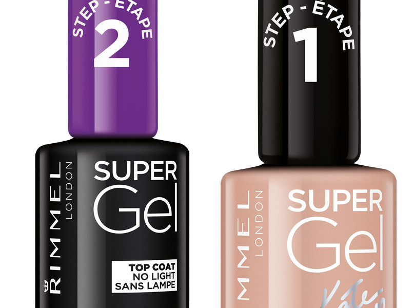 Rimmel London presenta lo smalto effetto gel in due semplici step
