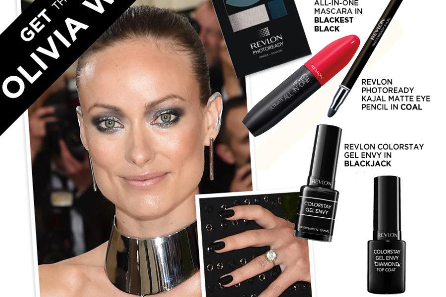 Olivia Wilde Make Up - Met Gala