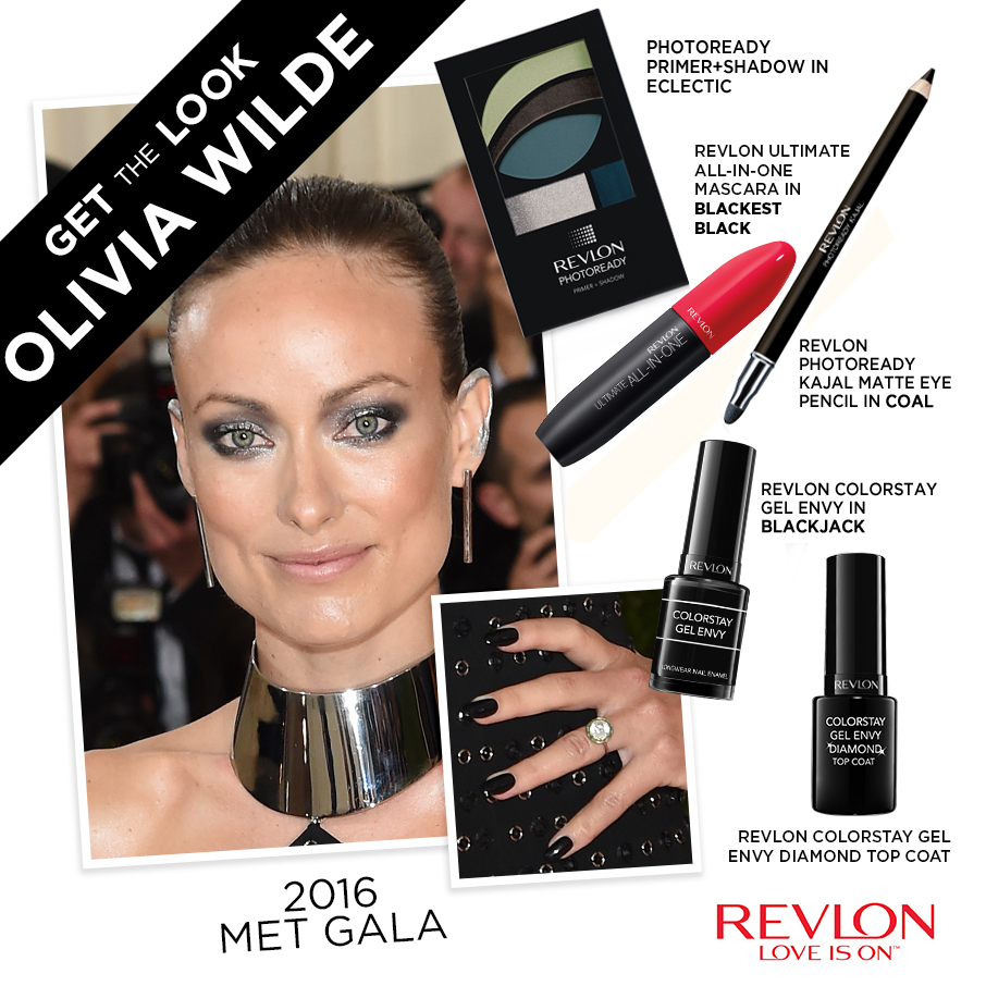 Olivia Wilde Make Up - Met Gala