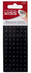 Kiss Rhinestones Nail Art