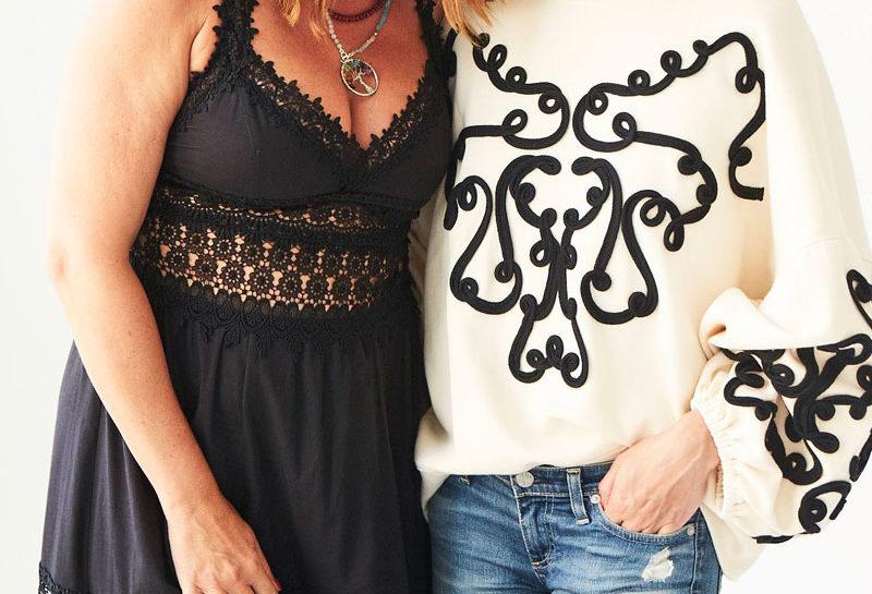 Olivia Palermo e Ursula Mascarò