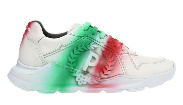 la nuova sneaker maschile di Pollini