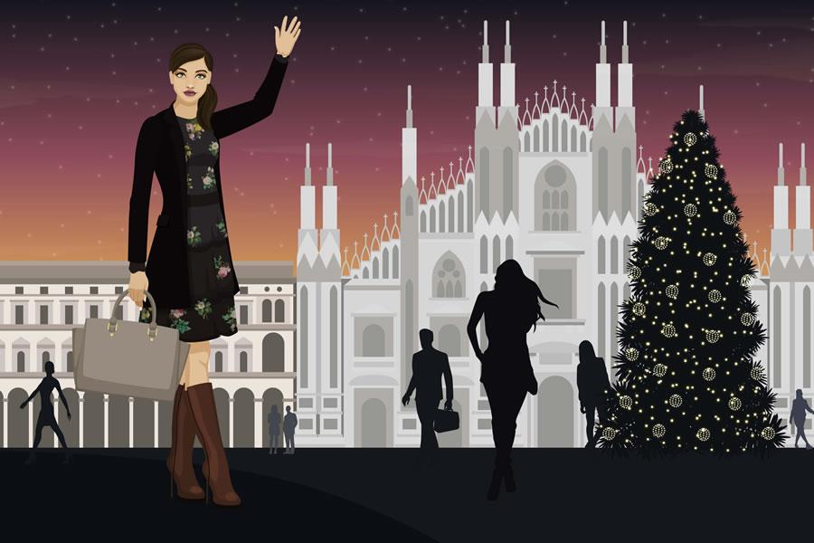 Stile donna a Milano