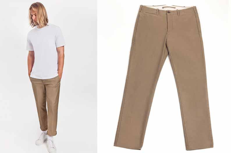 Il pantalone Chino di Siviglia