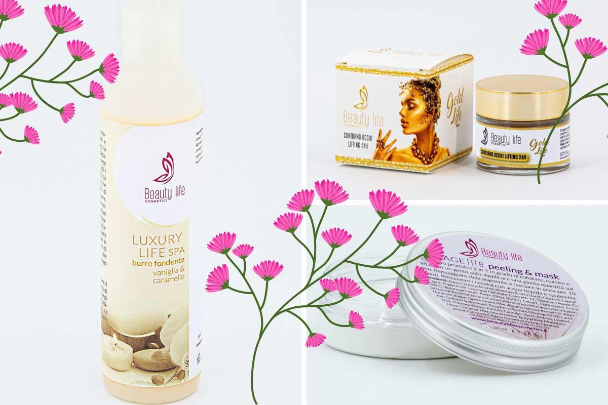 La routine beauty firmata Life Cosmetici
